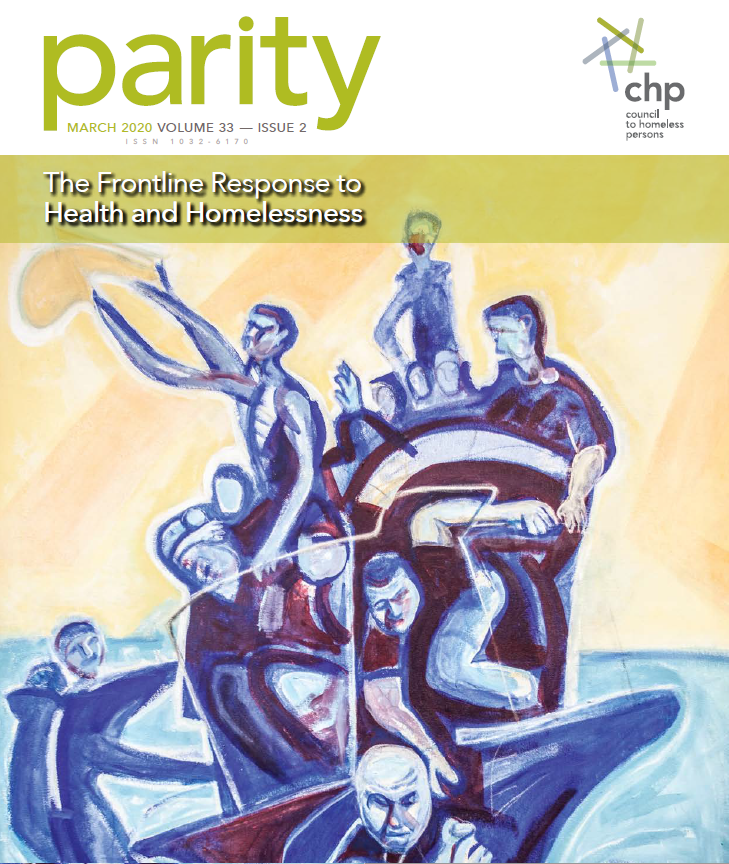 Parity Mag Cover